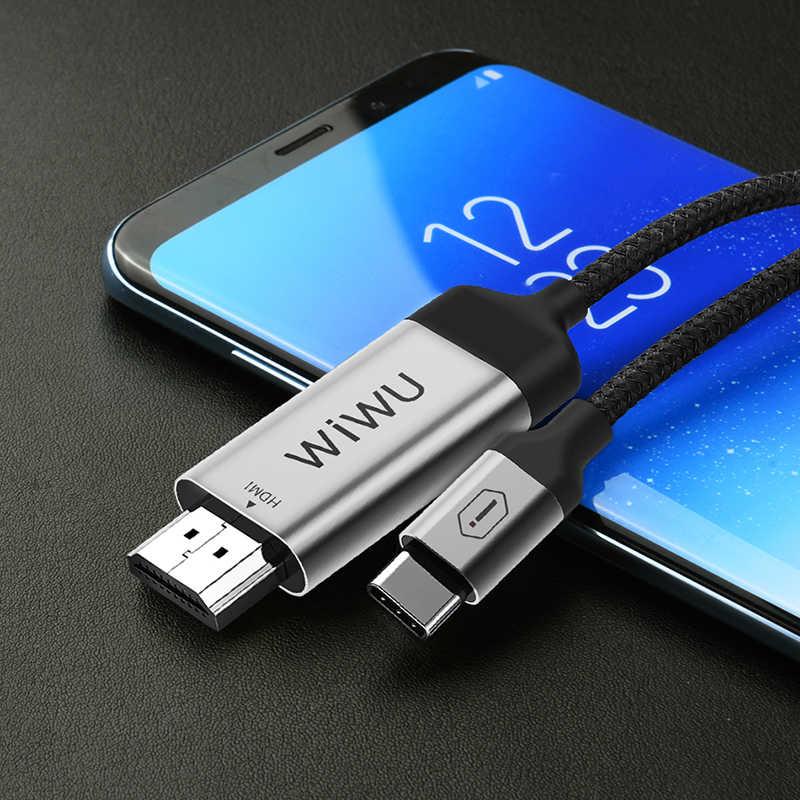 Wiwu X9 Type-C to HDMI Kablo