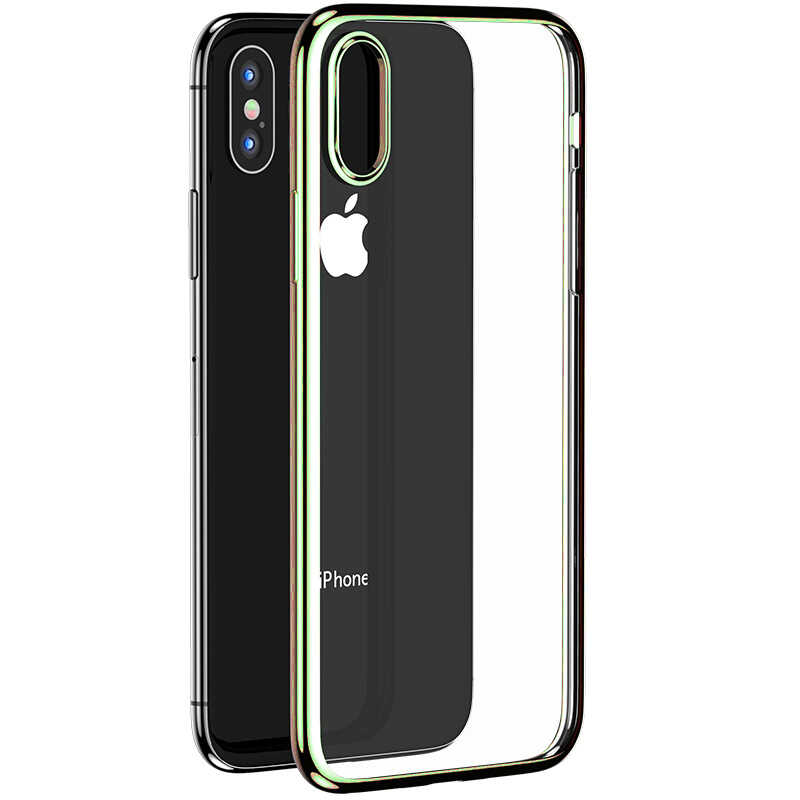 Apple iPhone XS 5.8 Benks Magic Glitz Ultra-Thin Transparent Protective Soft Case