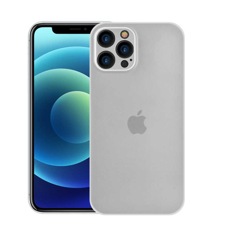 Apple iPhone 12 Pro Max Kılıf Wiwu Skin Nano PP Kapak
