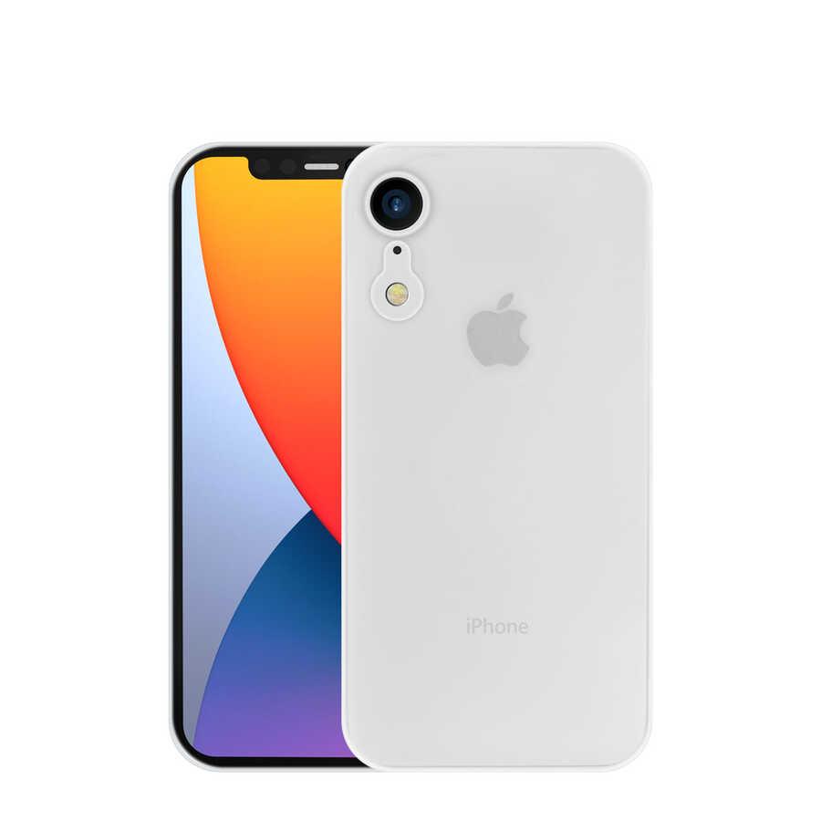 Apple iPhone XR 6.1 Kılıf Wiwu Skin Nano PP Kapak