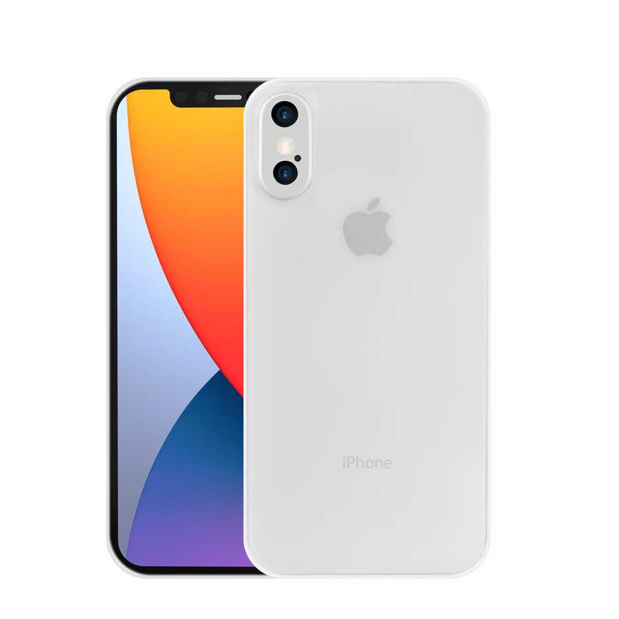 Apple iPhone X Kılıf Wiwu Skin Nano PP Kapak