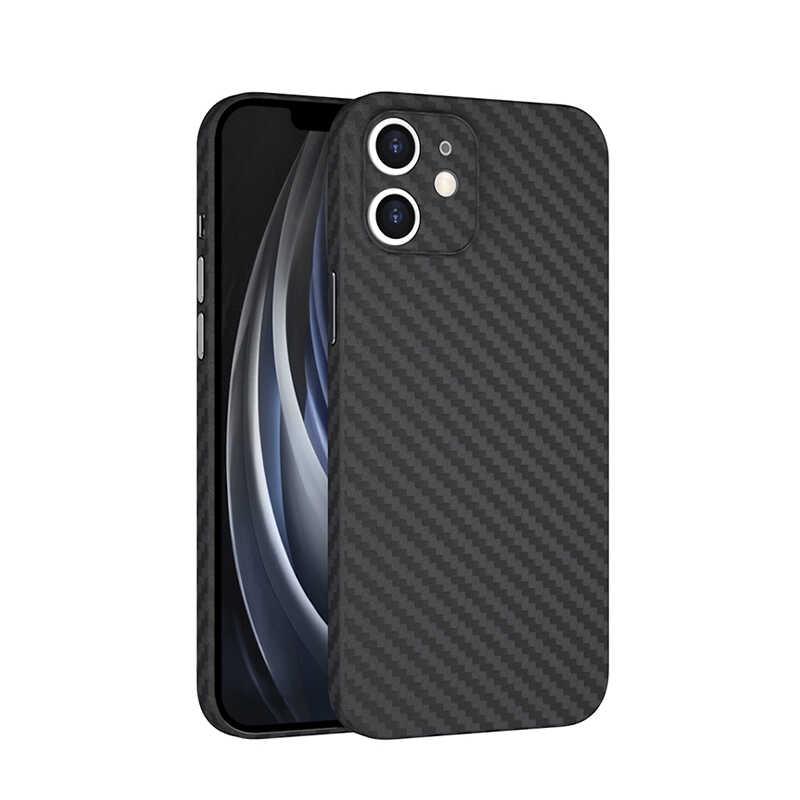 Apple iPhone 12 Mini Kılıf Wiwu Skin Carbon PP Kapak