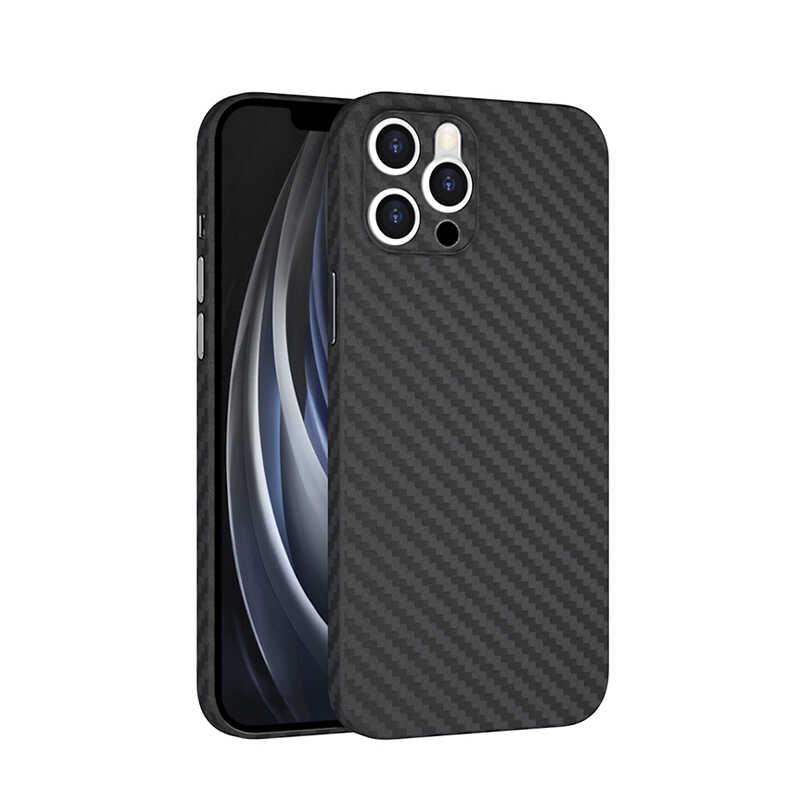 Apple iPhone 11 Pro Max Kılıf Wiwu Skin Carbon PP Kapak