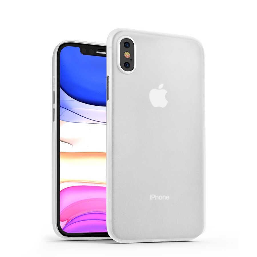 Apple iPhone XS Max 6.5 Kılıf Wiwu Skin Nano PP Kapak