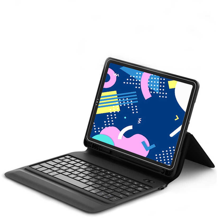 Apple iPad Pro 11 Wiwu Keyboard Folio Kablosuz Klavyeli Kılıf
