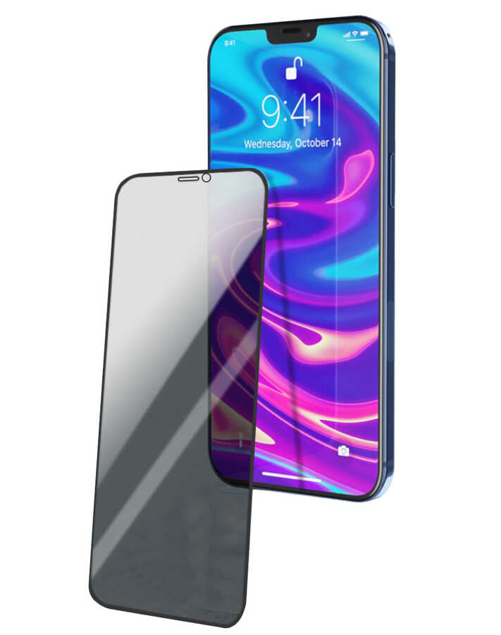 Apple iPhone 12 Pro Max Wiwu iPrivacy HD Anti-Peep Screen Protector