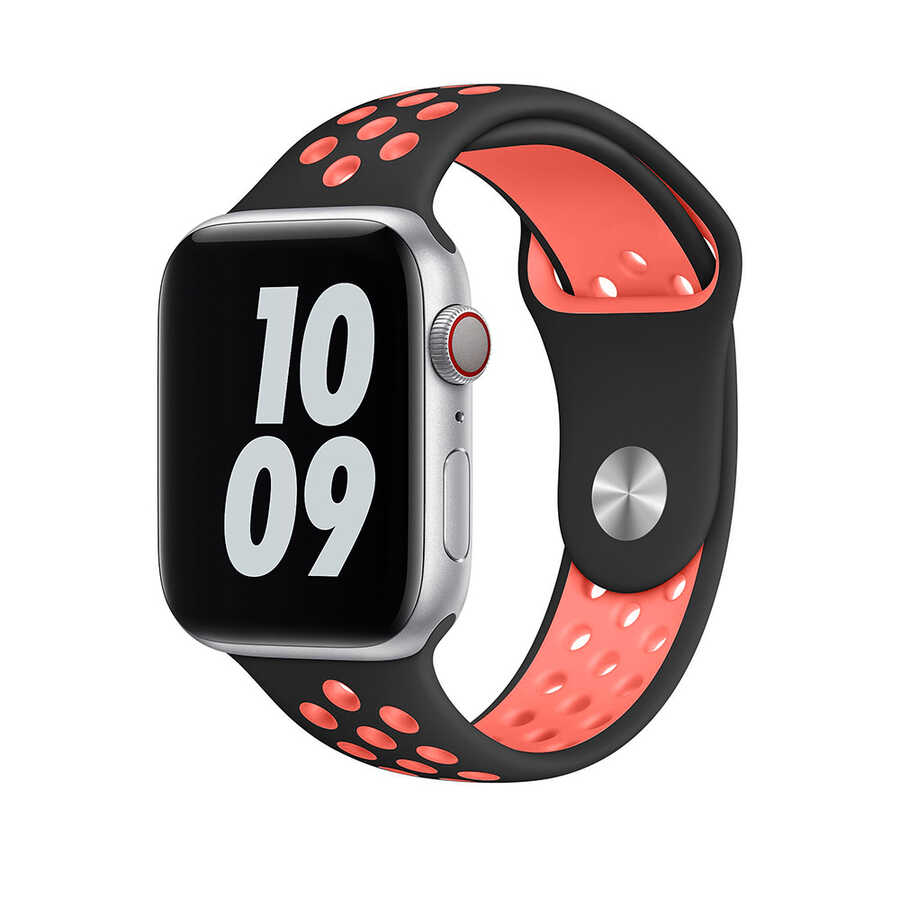 Apple Watch 38mm Wiwu Dual Color Sport Band Silikon Kordon