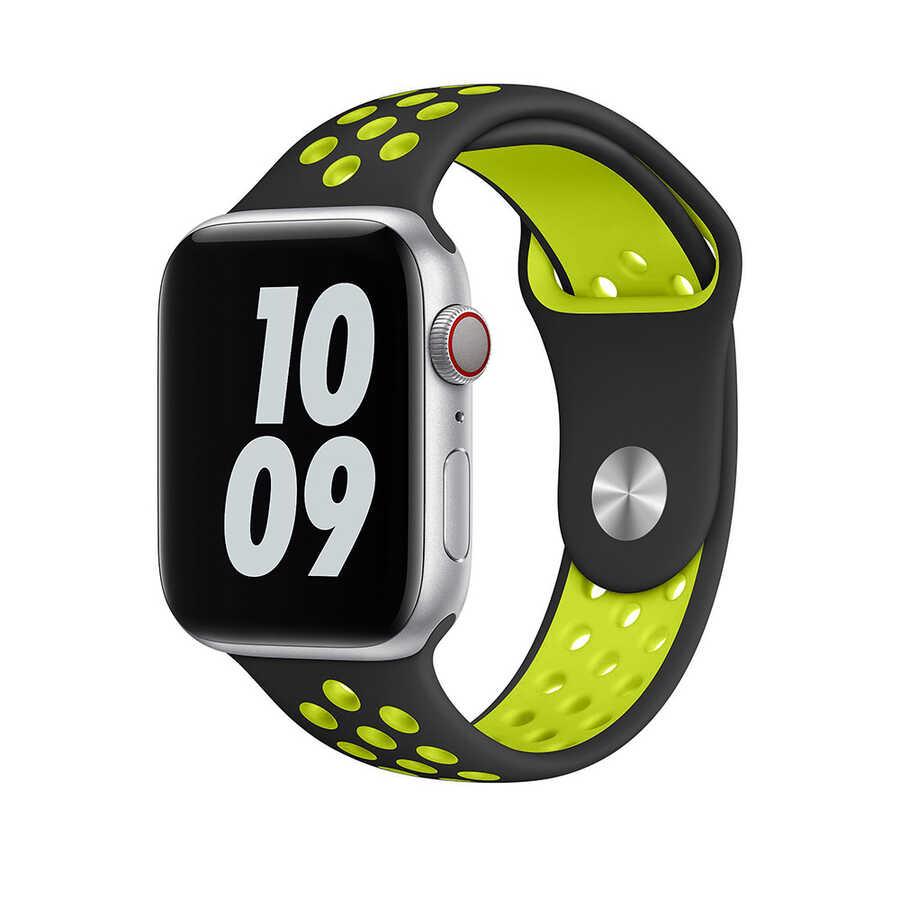 Apple Watch 40mm Wiwu Dual Color Sport Band Silikon Kordon