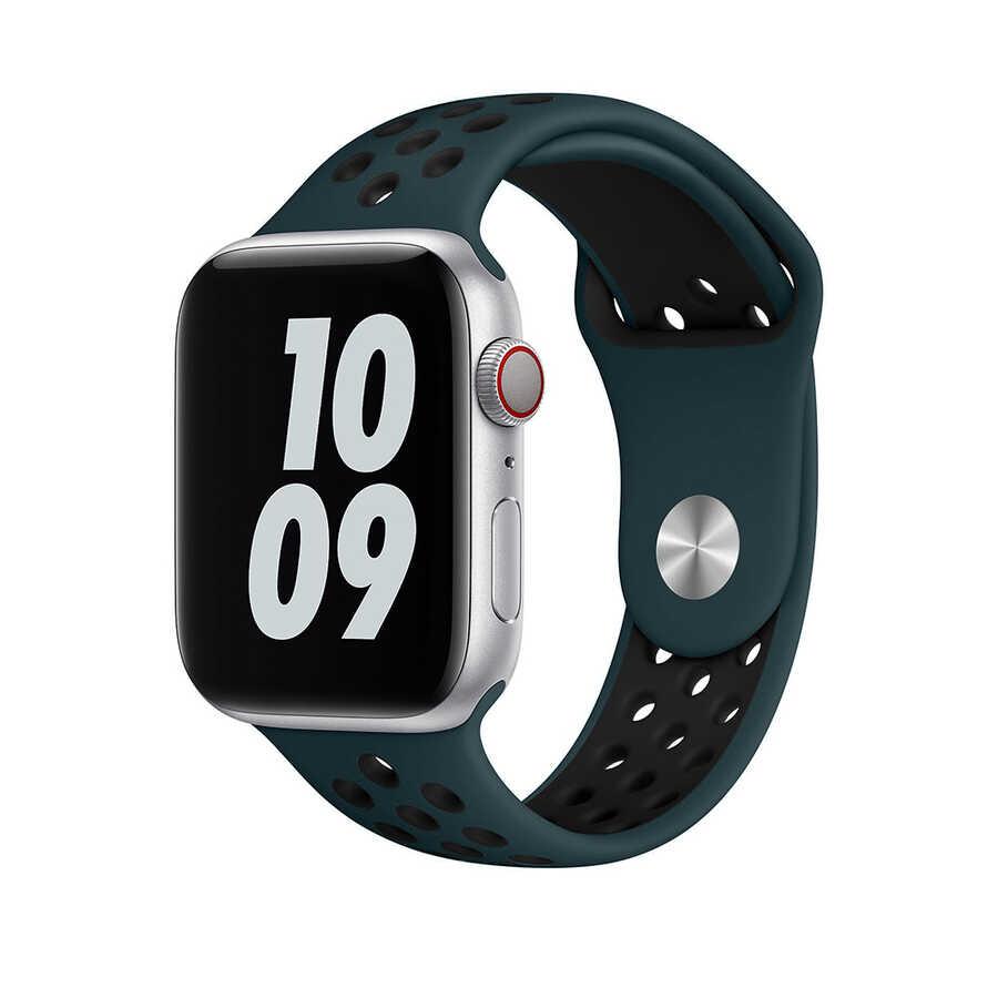 Apple Watch 42mm Wiwu Dual Color Sport Band Silikon Kordon