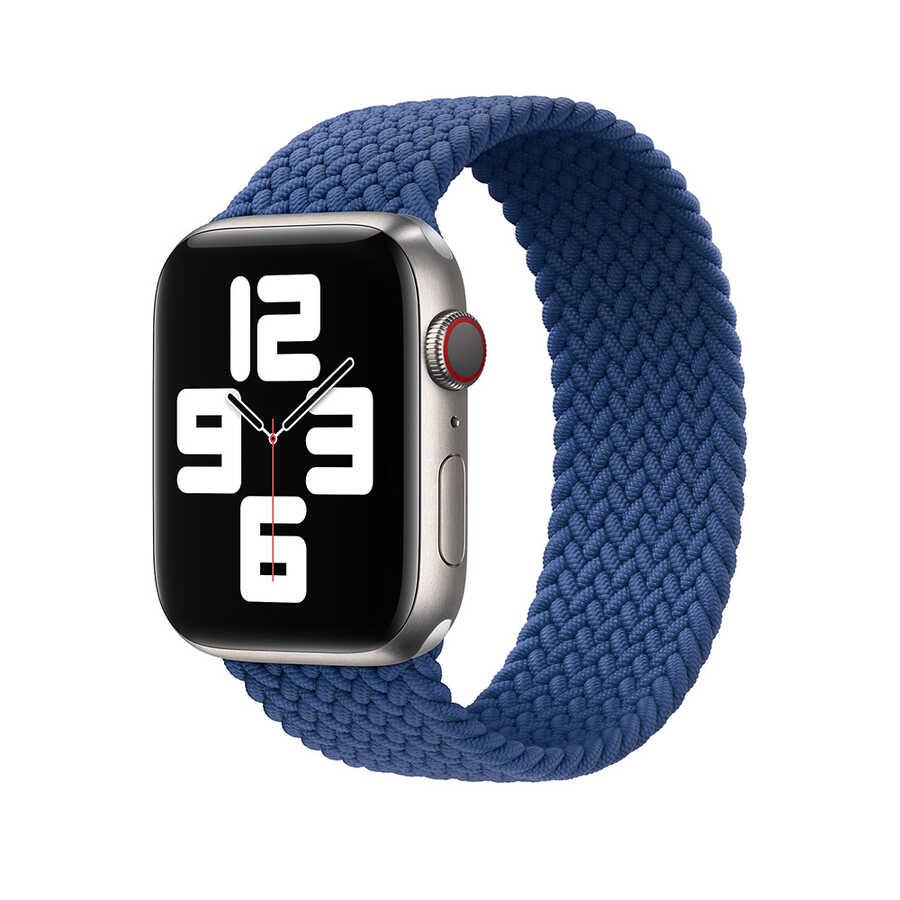 Apple Watch 44mm Wiwu Braided Solo Loop Large Kordon