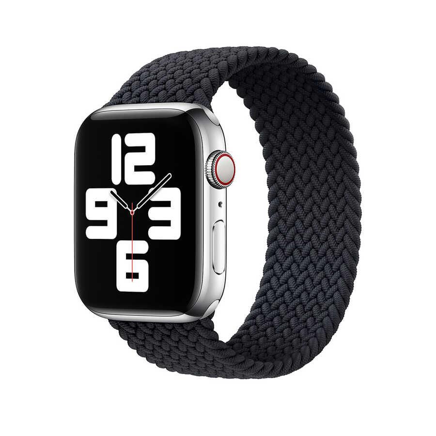 Apple Watch 44mm Wiwu Braided Solo Loop Medium Kordon