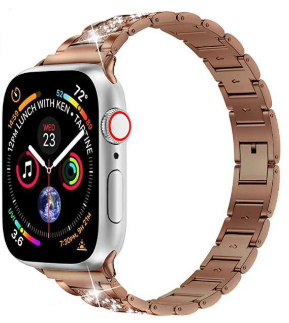 Apple Watch 38mm Wiwu Three Beads Set Auger Metal Kordon