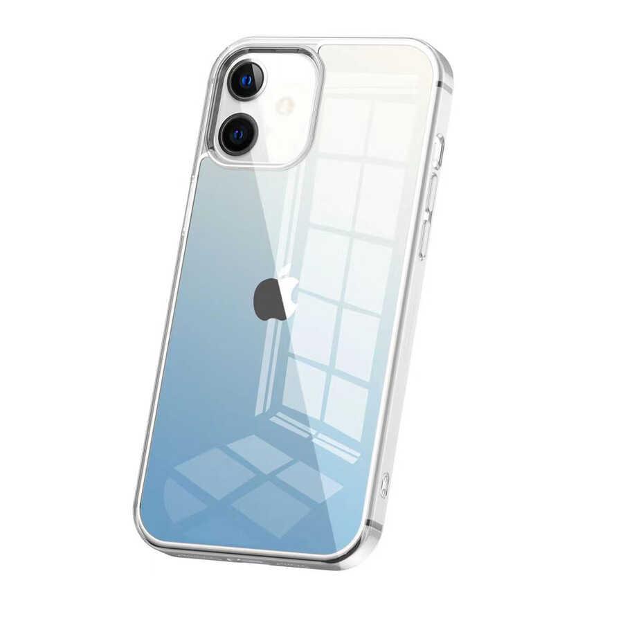 Apple iPhone 12 Kılıf Wiwu Chameleon Glass Case