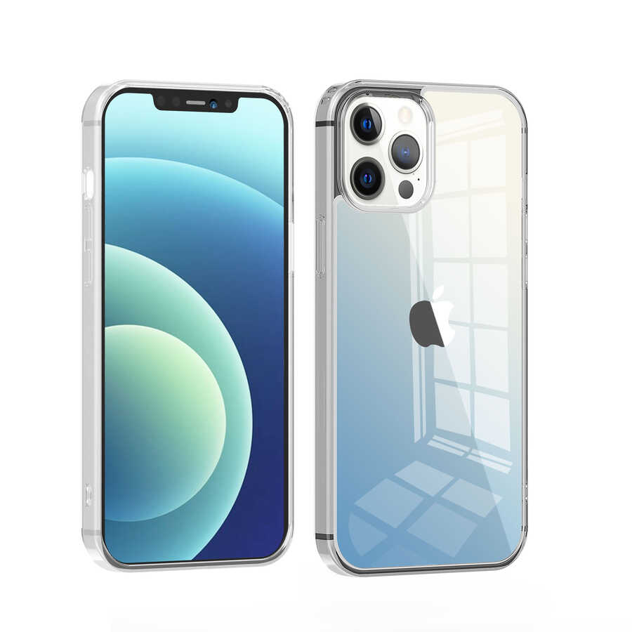 Apple iPhone 12 Pro Max Kılıf Wiwu Chameleon Glass Case