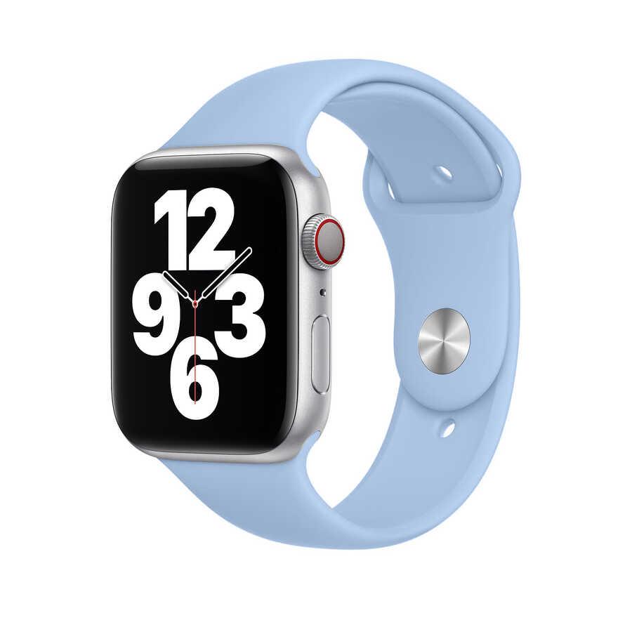 Apple Watch 44mm Wiwu Sport Band Silikon Kordon