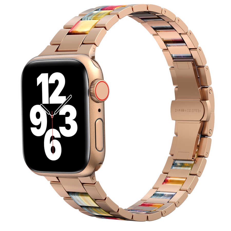 Apple Watch 38mm Wiwu Resin Steel Belt Metal Kordon