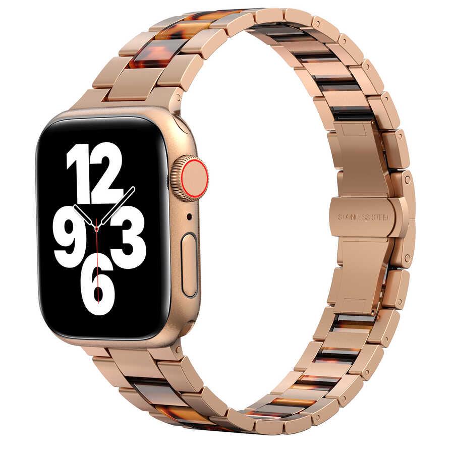 Apple Watch 42mm Wiwu Resin Steel Belt Metal Kordon