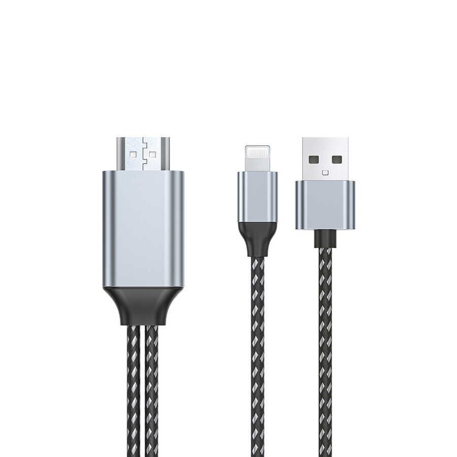 Wiwu X7L Lightning to HDMI Kablo