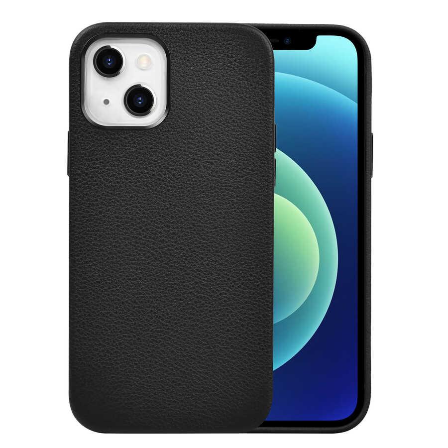 Apple iPhone 13 Mini Kılıf Wiwu Calfskin Case