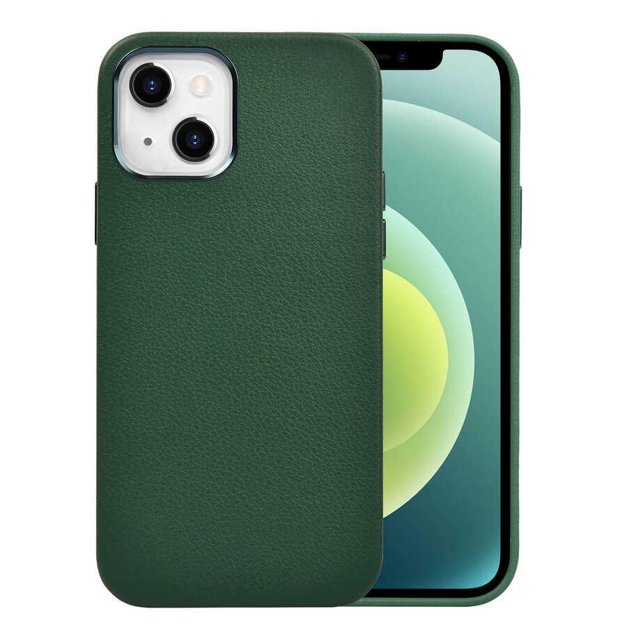 Apple iPhone 13 Kılıf Wiwu Calfskin Case