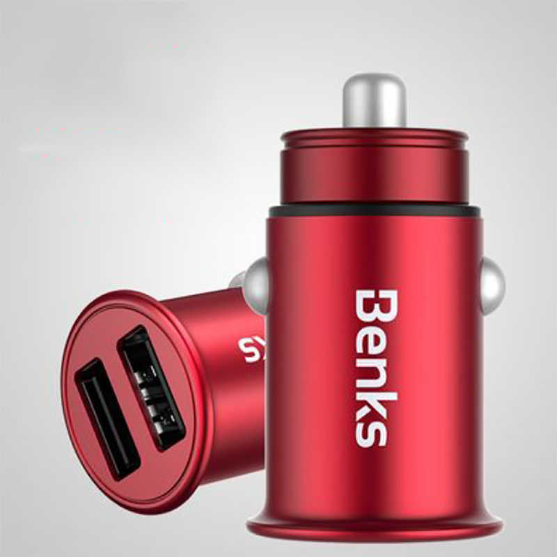 Benks C27 Dual Usb Car Charger 4.8A