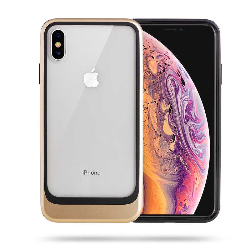 Apple iPhone XS Max 6.5 Kılıf Roar Ace Hybrid Ultra Thin Back Cover