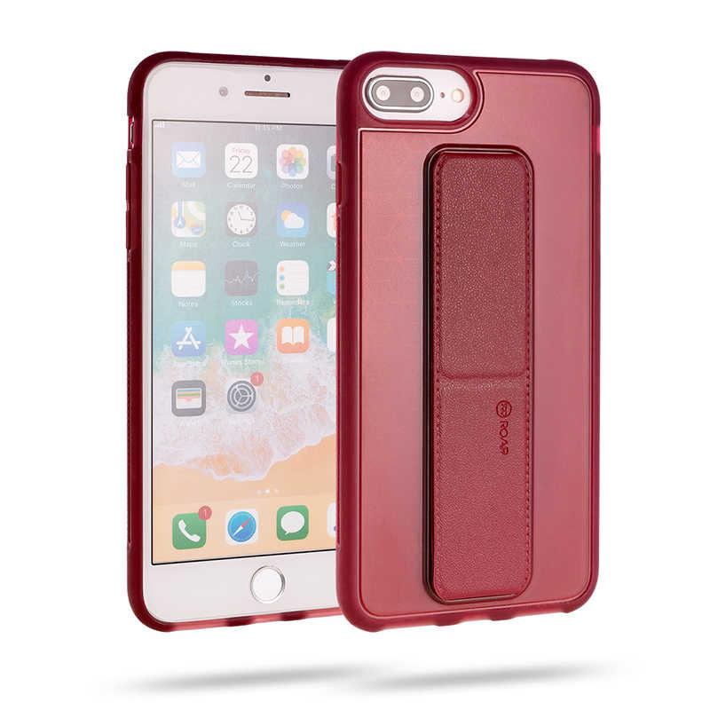 Apple iPhone 8 Plus Kılıf Roar Aura Kick-Stand Back Cover