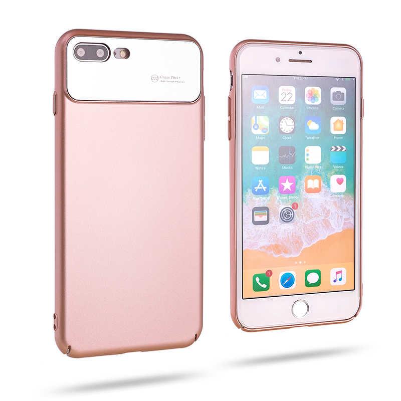 Apple iPhone iPhone 8 Plus Kılıf Roar Ultra-Air Hard Back Cover