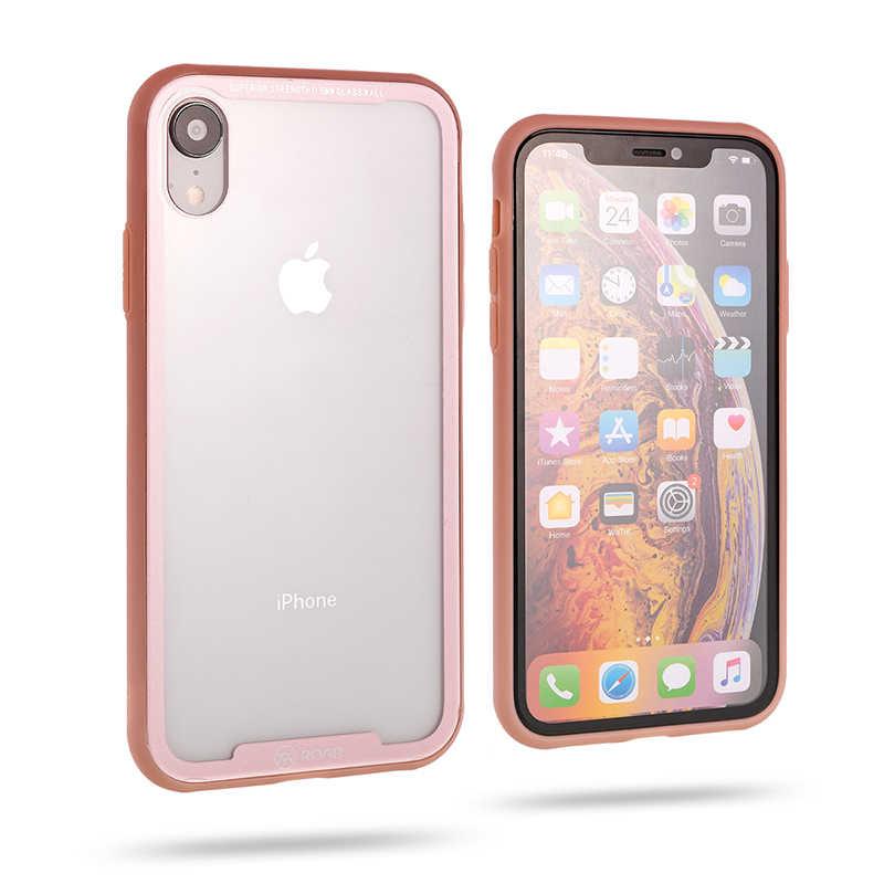 Apple iPhone XR 6.1 Kılıf Roar Glassoul Airframe Case