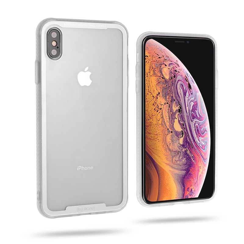 Apple iPhone XS Max 6.5 Kılıf Roar Glassoul Airframe Cover