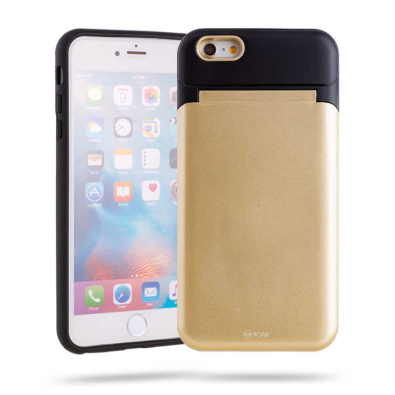 Apple iPhone 6 Plus Kılıf Roar Mirror Bumper Case