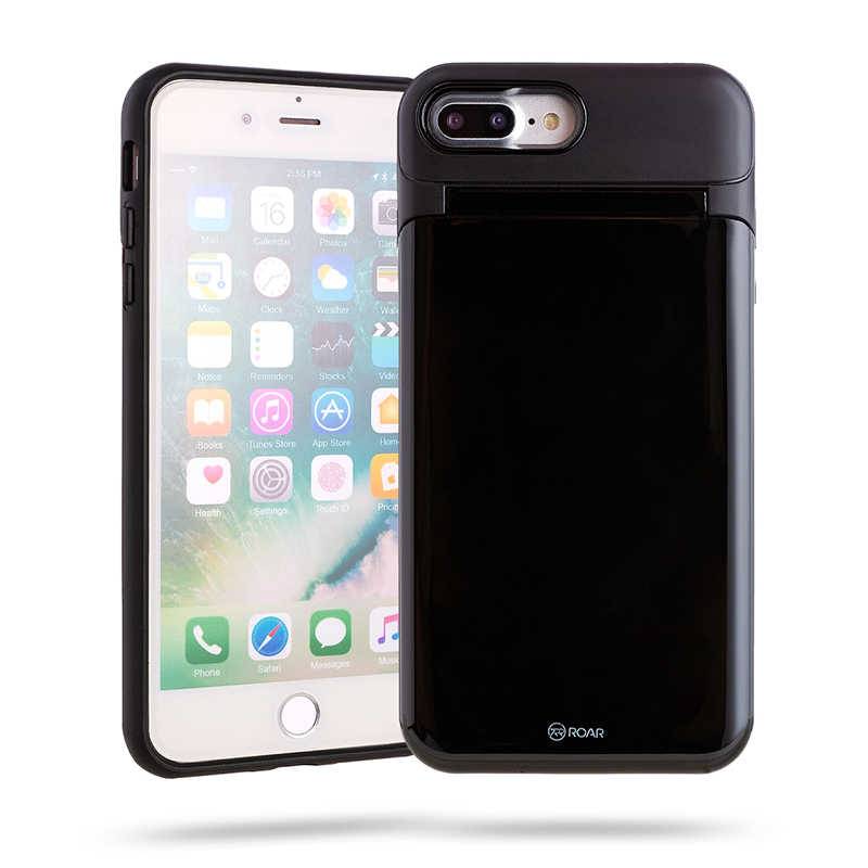 Apple iPhone 8 Plus Kılıf Roar Mirror Bumper Case