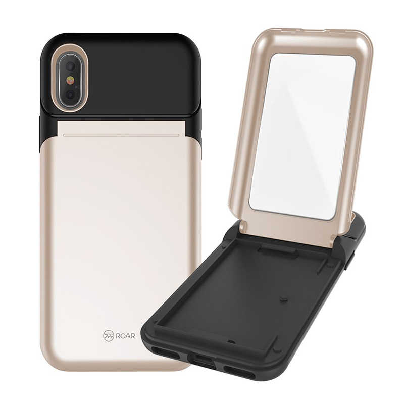 Apple iPhone X Kılıf Roar Mirror Bumper Case