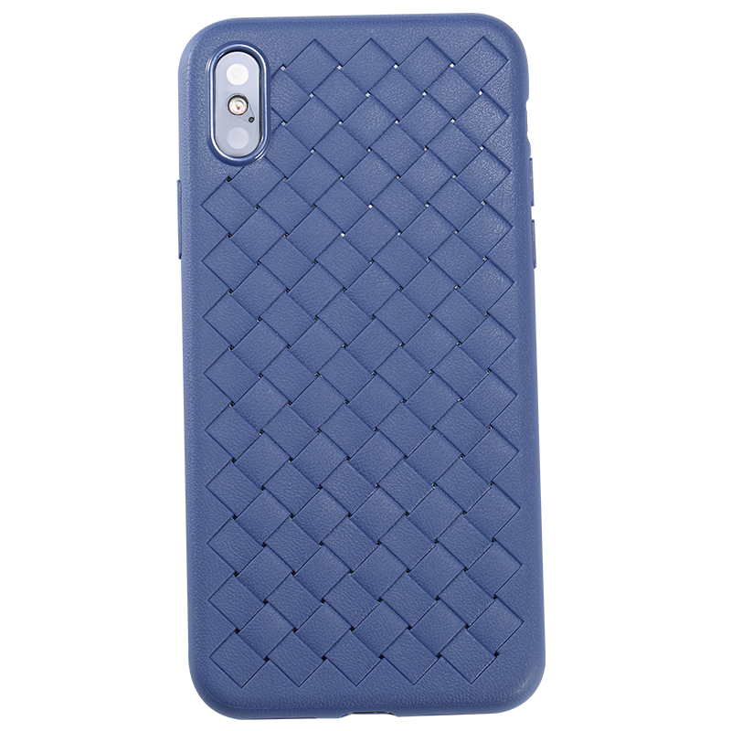 Apple iPhone XS Max 6.5 Kılıf Benks Weavelt Tpu Protective Case
