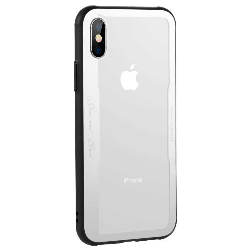 Apple iPhone X Kılıf Benks Shiny Glass Series