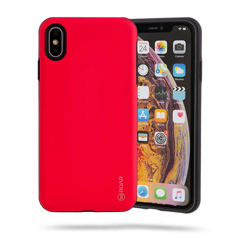Apple iPhone XS Max 6.5 Kılıf Roar Rico Hybrid Case
