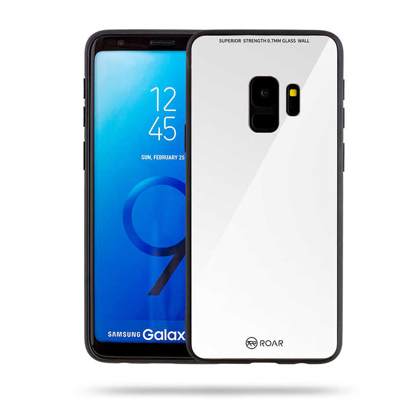 Galaxy S9 Kılıf Roar Mira Glass Back Cover