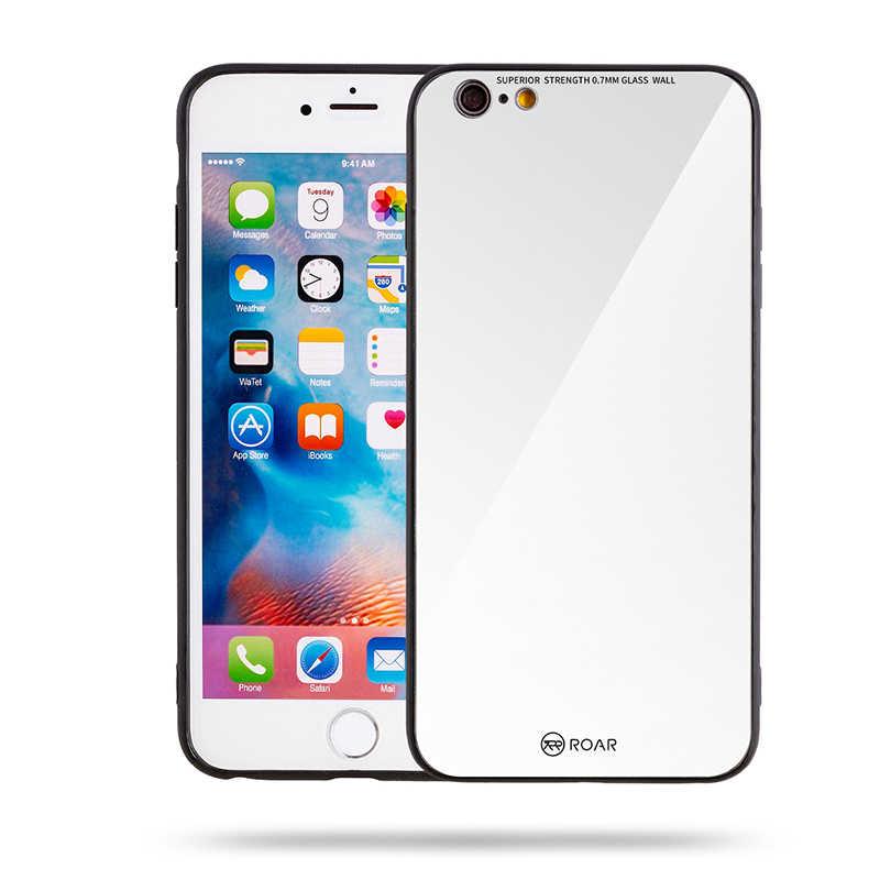 Apple iPhone 6 Plus Kılıf Roar Mira Glass Back Cover