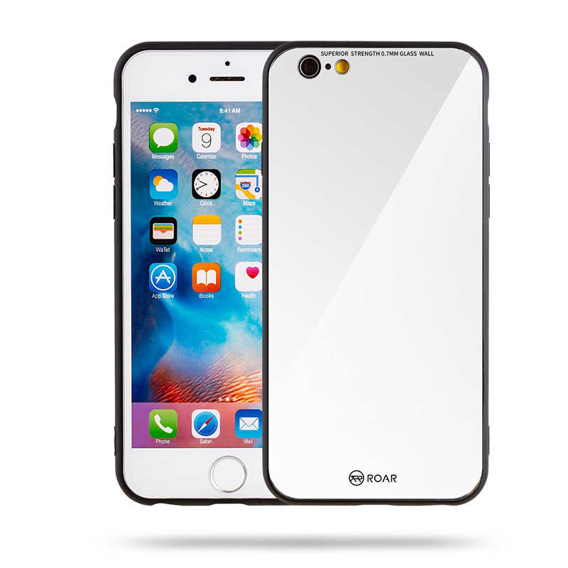 Apple iPhone 6 Kılıf Roar Mira Glass Back Cover