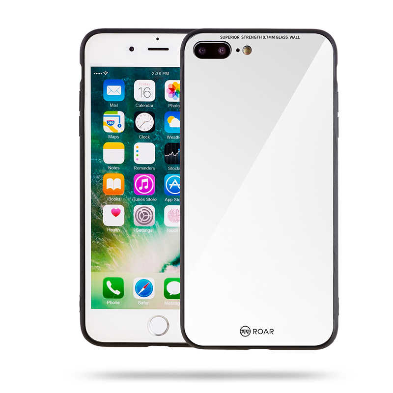 Apple iPhone 7 Plus Kılıf Roar Mira Glass Back Cover