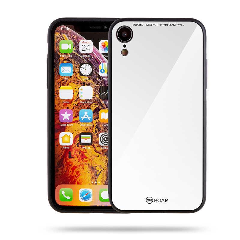 Apple iPhone XR 6.1 Kılıf Roar Mira Glass Back Cover