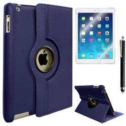 Apple iPad 5 Air Zore Dönebilen Standlı Kılıf - Thumbnail