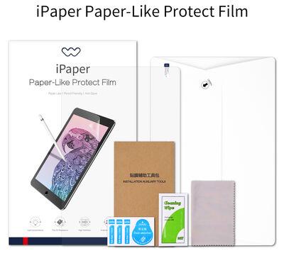 Apple iPad 6 Air 2 Wiwu iPaper Like Tablet Ekran Koruyucu