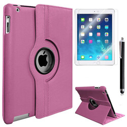 Apple iPad Pro 12.9 Zore Dönebilen Standlı Kılıf - Thumbnail