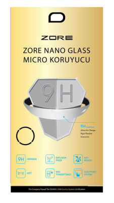 Apple iPad Pro 12.9 Zore Nano Micro Temperli Ekran Koruyucu