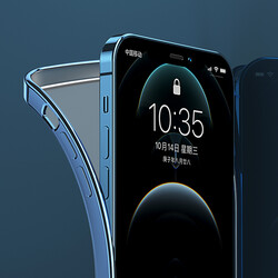 Apple iPhone 12 Pro Benks Matte Electroplated TPU Case - Thumbnail
