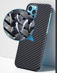 Apple iPhone 12 Pro Kılıf Benks MFİ Magsafe Magnetic Aramid Case - Thumbnail