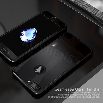 Apple iPhone 5 Kılıf 360 Aynalı Voero Koruma