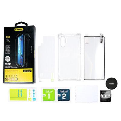 Galaxy Note 10 Plus Go Des 5 in 1 Full Body Shield