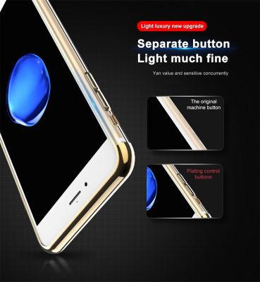 Apple iPhone 6 Kılıf Zore Dört Köşeli Lazer Silikon